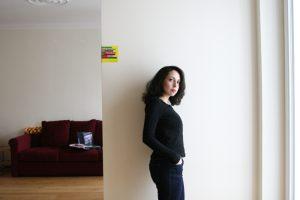 Unsere Redakteurin Dima Al-Bitar Kalaji. Foto: Juliette Moarbes (2019)