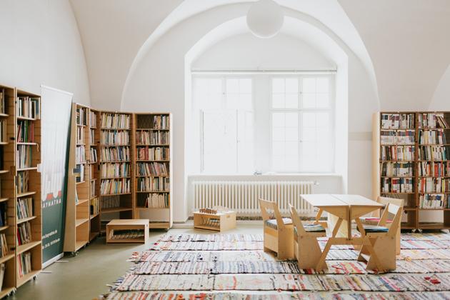 Baynatna, the Arabic library in Berlin