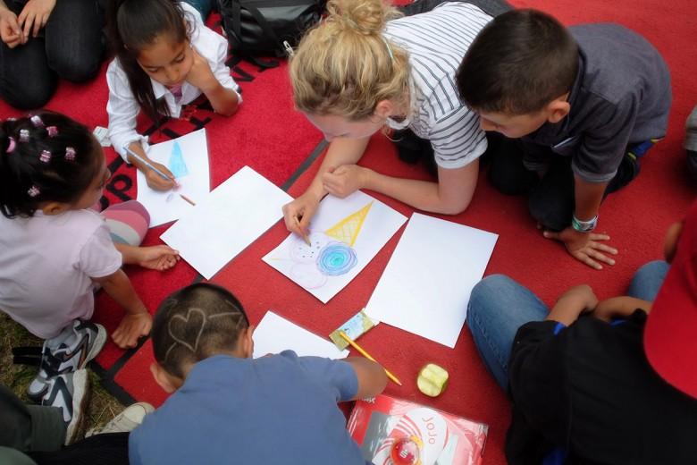 Beitrag2 Kinderlesung Buchhandlung Die Insel