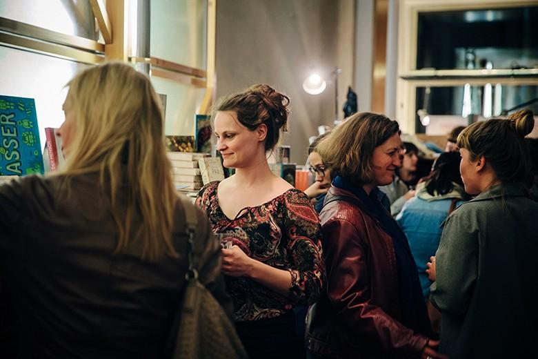 Foto der Besucher der Veranstaltung. Foto: Verena Kathrein