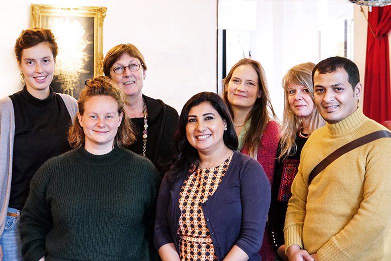 Teilnehmer des Workshops in Bremen. Foto: Sebastian Heidelberger