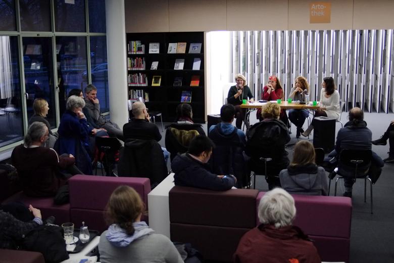 Lesung Ammerikanische Gedenkbibliothek 3.12.2017