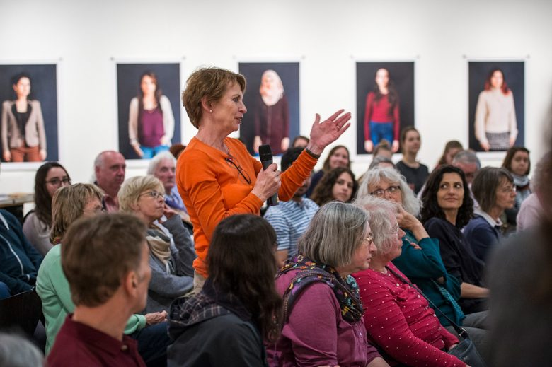 Fragen des Publikums. Foto: Alexander Janetzko
