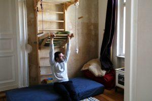 """Der Projektleiter der WIR MACHEN DAS-Reihe """"Meet Your Neighbours"""", Tobias Scholz. Foto: Juliette Moarbes"""