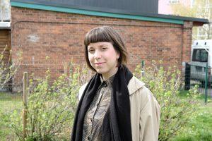 Portrait von Eva Schmitt für Meet your Neighbours. Foto: Friedericke Butter
