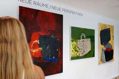 Ausstellungseröffnung Wir machen das - Mercator Stiftung Essen 29.82019. Foto: Jennifer Heimann